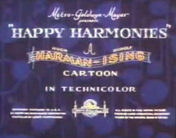 <i>Happy Harmonies</i> Series Title Card