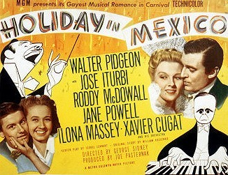 Holiday In Mexico  Lobby Card