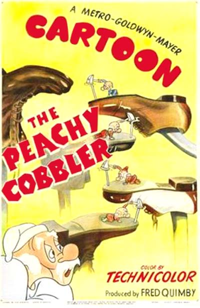 The Peachy Cobbler Poster