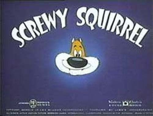 'Screwy Squirrel' Series Title Card