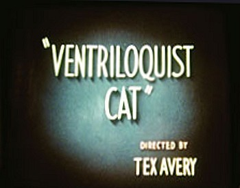Ventriloquist Cat Title Card