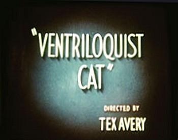 Ventriloquist Cat Title Card