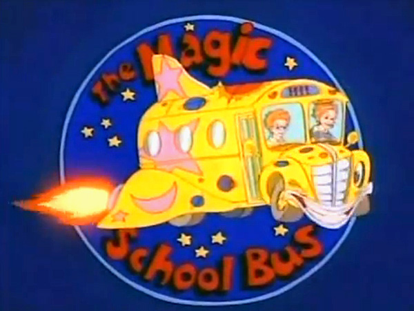 'The Magic School Bus Television' Series Title Card