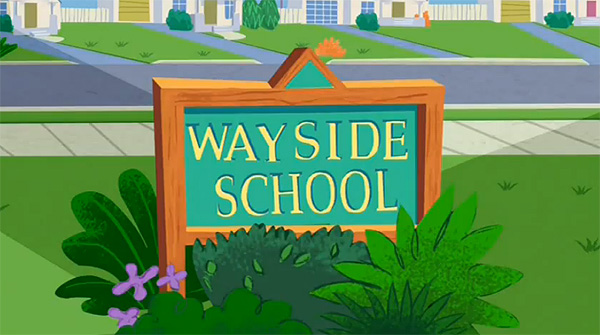 'Wayside Television' Series Title Card