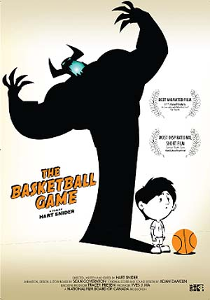 The Basketball Game Original Poster