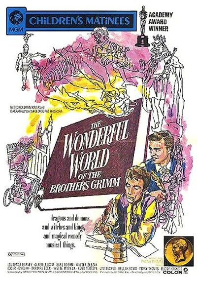The Wonderful World Of The Brothers Grimm Poster