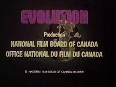Evolution Title Card