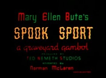 'Spook Sport' Title Card