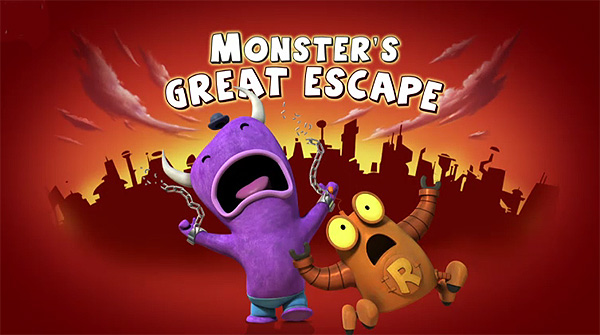Monster's Great Escape Television Episode Title Card