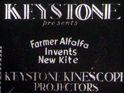 Farmer Al Falfa Invents A Kite Rerelease Title Card
