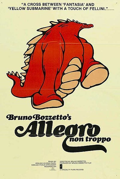 Allegro Non Troppo Original English Poster
