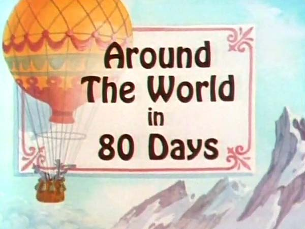 Around The World In 80 Days Title Card