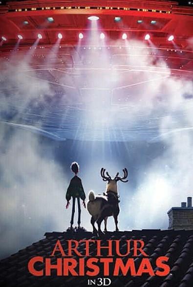 'Arthur Christmas' Poster