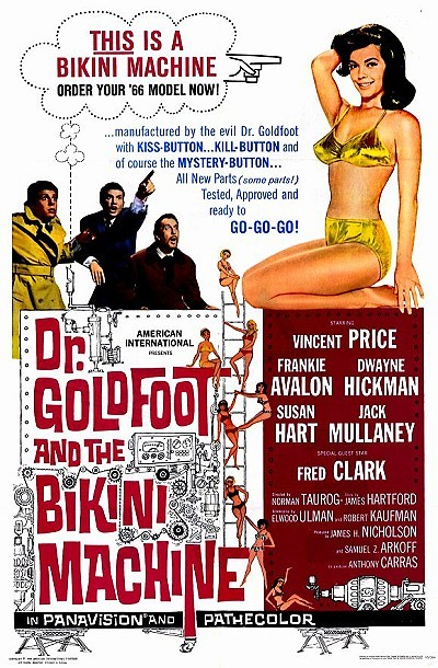 'Dr. Goldfoot And The Bikini Machine' Original Release Poster