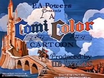 <i>ComiColor Cartoons</i> Series Title Card