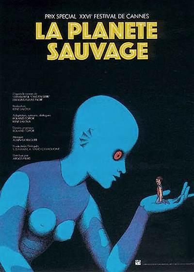 La Plan�te Sauvage Release Poster