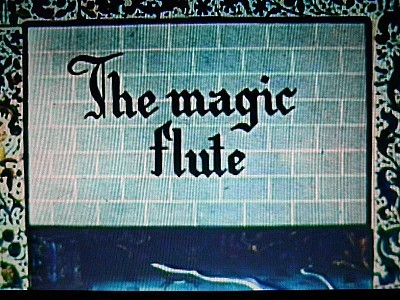 'La Fl�te Magique' English Title Card