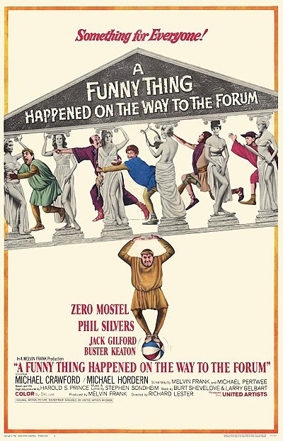 A Funny Thing Happened on the Way to the Forum Poster