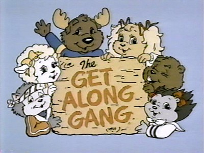 The Get Along Gang Television Series Title Card