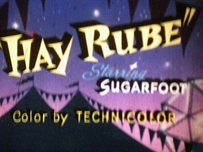'Hay Rube' Alternate Title Card