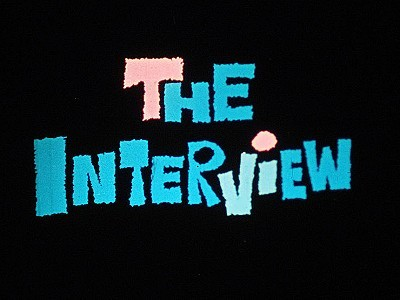 The Interview Original Title Card
