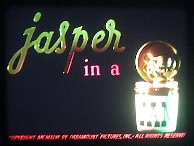 'Jasper In A Jam' Title Card