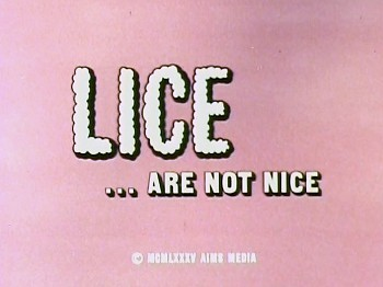 <i>Lice Are Not Nice</i> Title Card