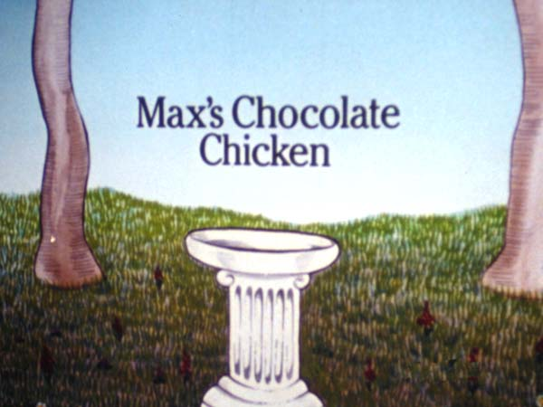 Max's Chocolate Chicken Title Card
