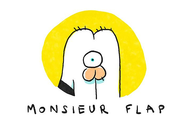 Monsieur Flap Title Card