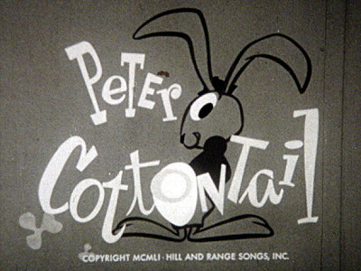 <i>Peter Cottontail</i> Title Card