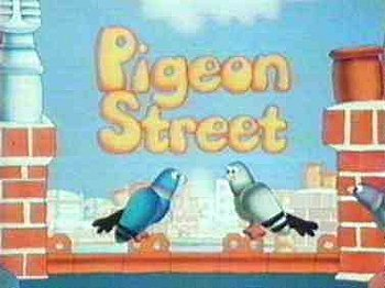 Pigeon Street Television Series Title Card