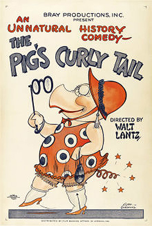 The Pig's Curly Tail Original Release Poster
