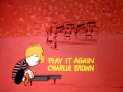 Play It Again, Charlie Brown Title Card