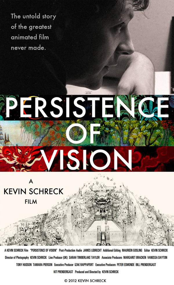 'Persistence Of Vision' Original Release Poster