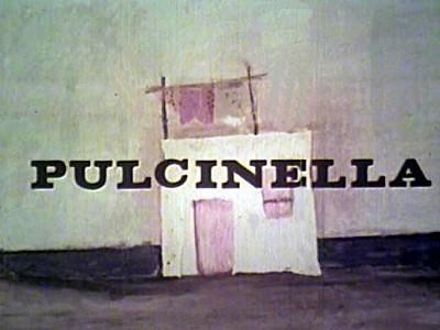 Pulcinella Title Card