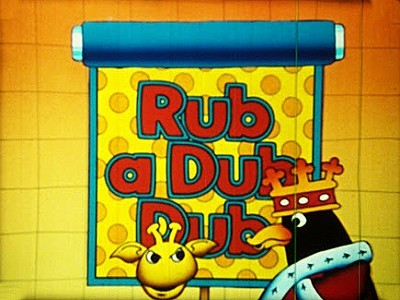 Rub A Dub Dub Television Series Title Card