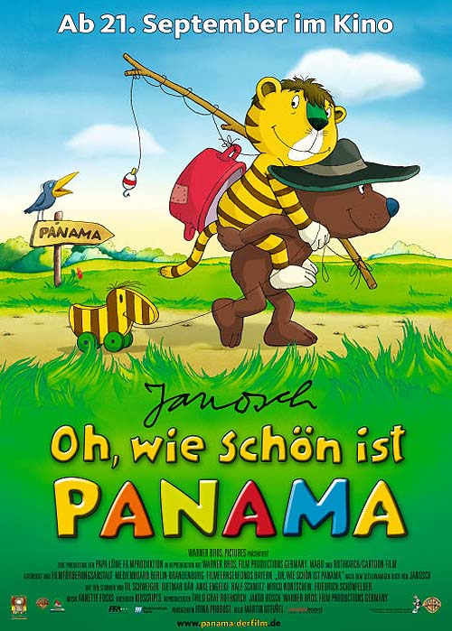 'Oh, Wie Sch�n Ist Panama' Release Poster