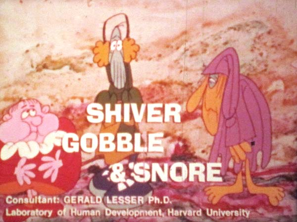 'Why People Have Laws, or Shiver Gobble & Snore' Title Card