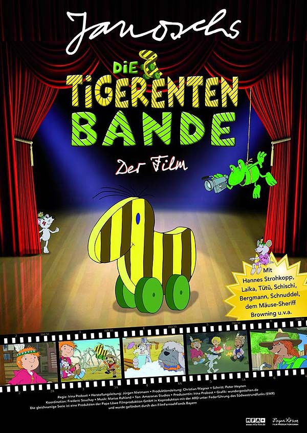 Die Tigerentenbande - Der Film Poster