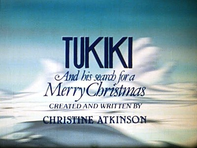 Tukiki And His Search For A Merry Christmas Title Card