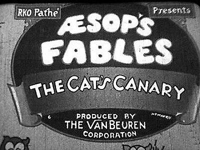 Aesop's Fables Series Title Card