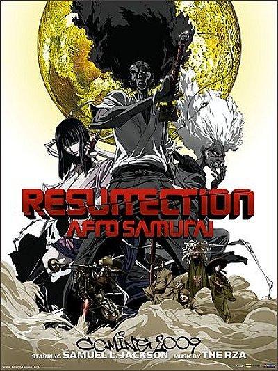 'Afro Samurai: Resurrection' Release Poster