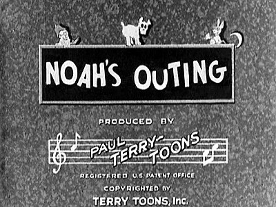Noah's Outing Title Card