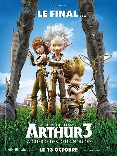 Arthur et la Guerre Des Deux Mondes Teaser Poster