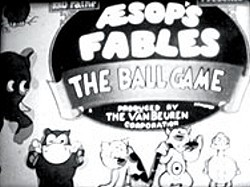 The Ball Game Title Card