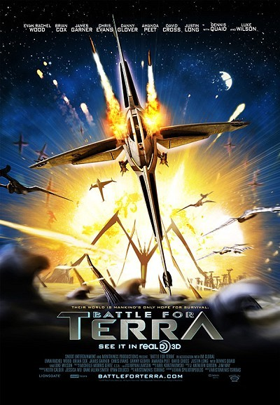 Battle For Terra Original Release Poster