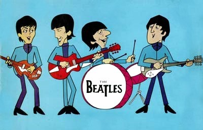 The Beatles Television Series Title Card