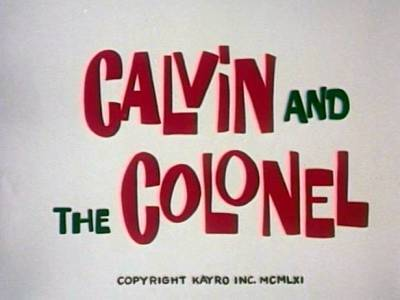 'The Colonel's Old Flame' Color Series Title Card