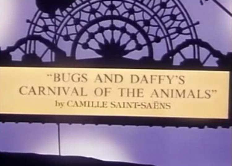Carnival Of The Animals Title Card