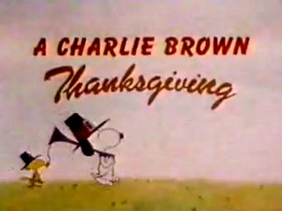A Charlie Brown Thanksgiving Title Card